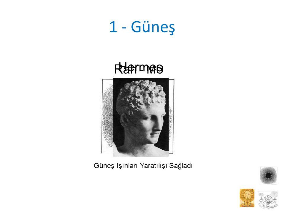 1 - Güneş Hermes Güneş Işınları Yaratılışı Sağladı Rah - MU