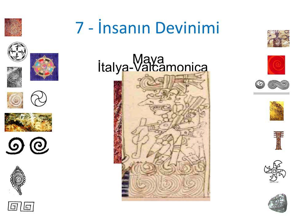 7 - İnsanın Devinimi Maya İtalya-Valcamonica
