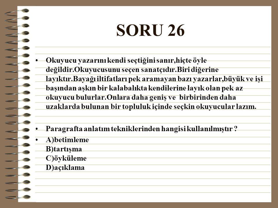 SORU 26