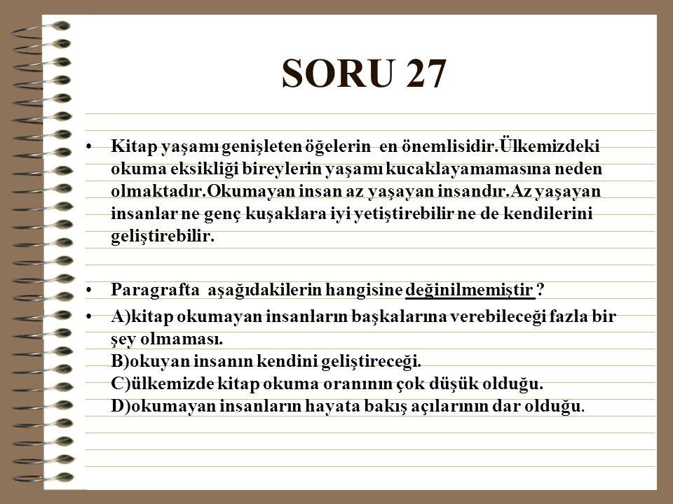 SORU 27