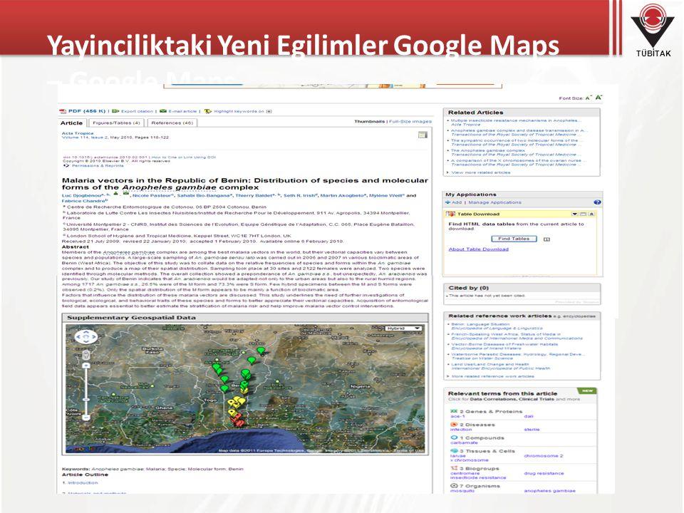 Yayinciliktaki Yeni Egilimler Google Maps – Google Maps