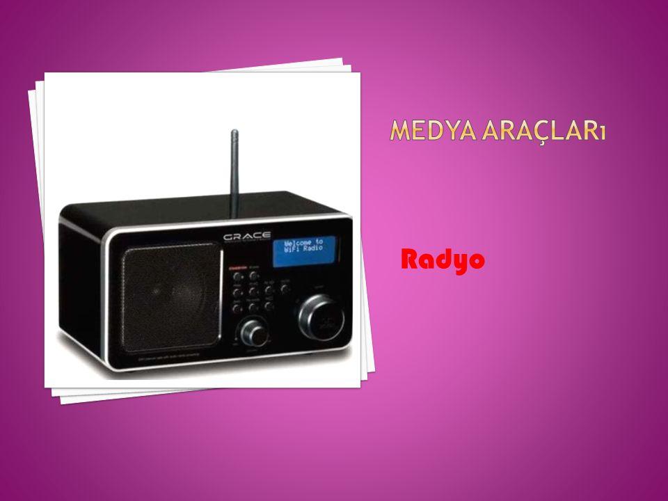 Medya araçları Radyo