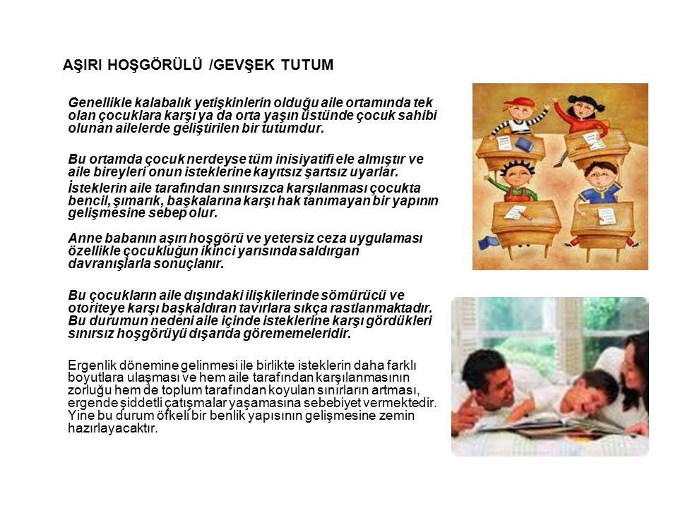AŞIRI HOŞGÖRÜLÜ /GEVŞEK TUTUM