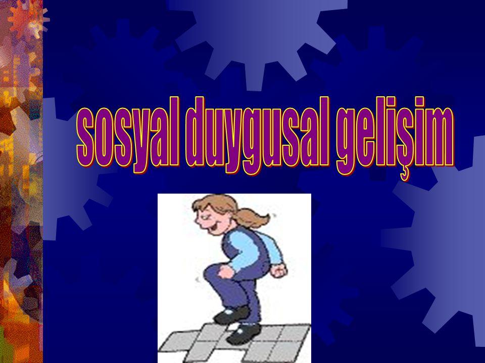 sosyal duygusal gelişim