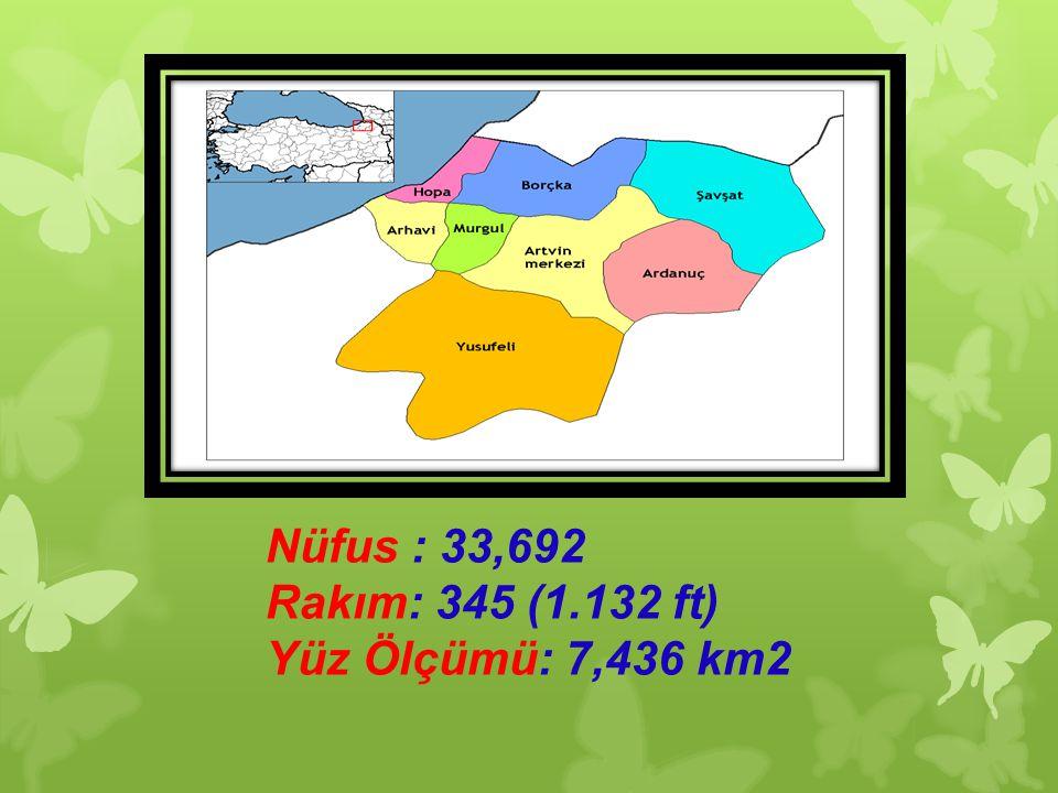 Nüfus : 33,692 Rakım: 345 (1.132 ft) Yüz Ölçümü: 7,436 km2