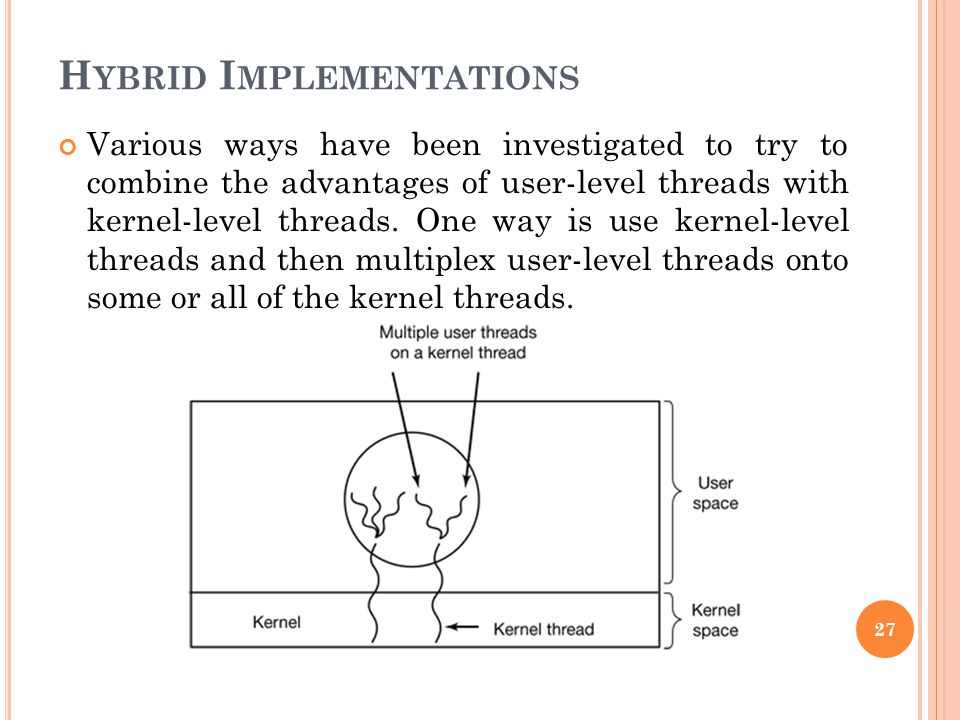 Hybrid Implementations