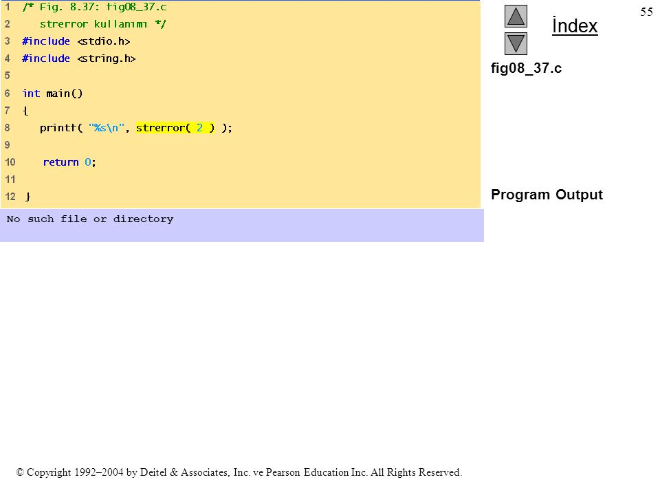 fig08_37.c Program Output No such file or directory