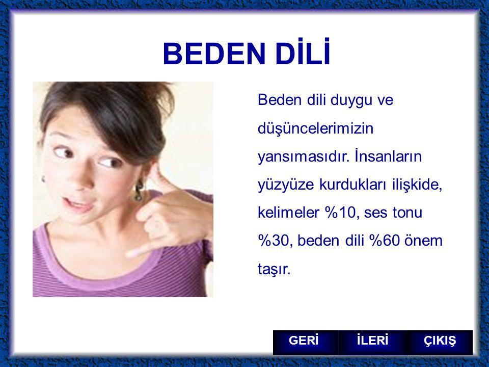 BEDEN DİLİ