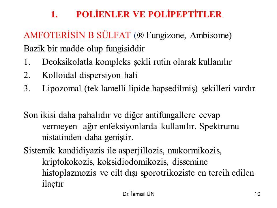 POLİENLER VE POLİPEPTİTLER