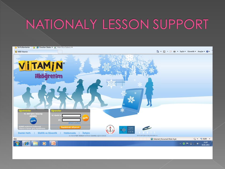 NATIONALY LESSON SUPPORT