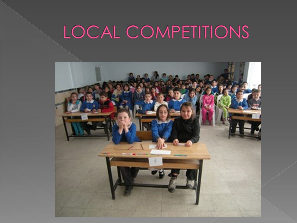 LOCAL COMPETITIONS