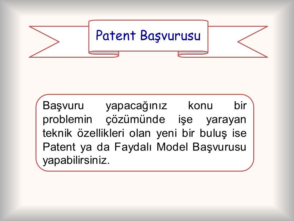 Patent Başvurusu
