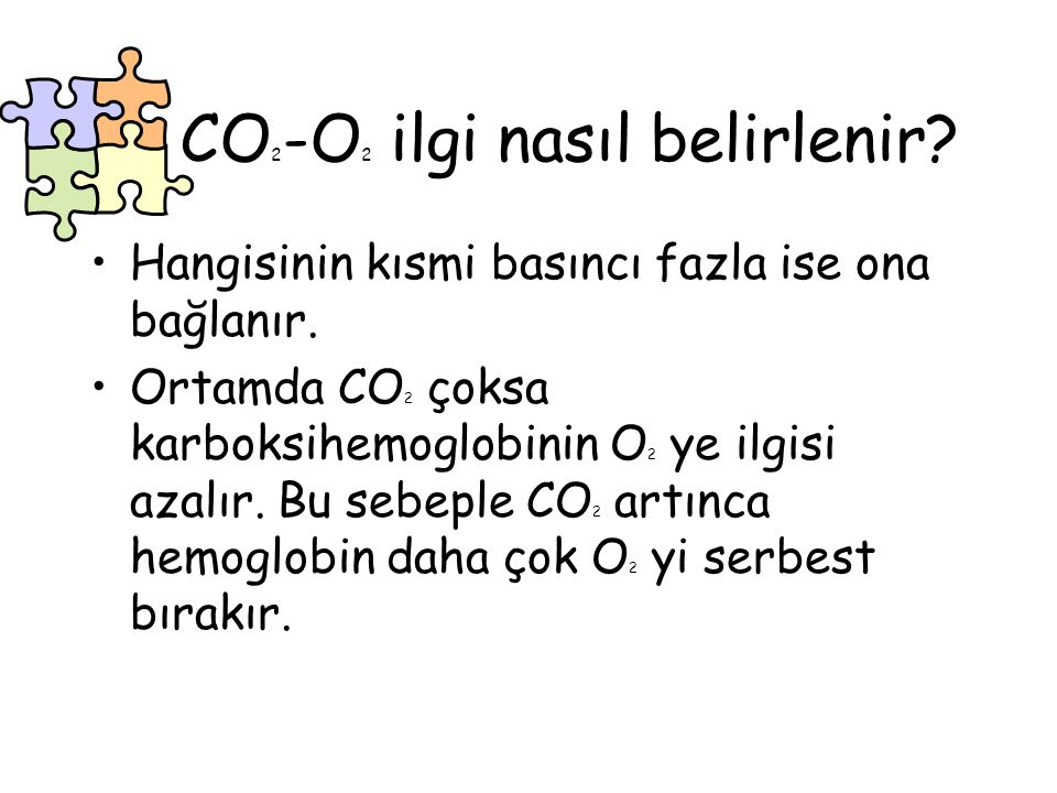 CO2-O2 ilgi nasıl belirlenir