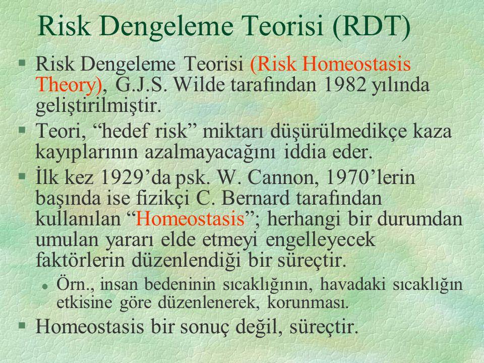 Risk Dengeleme Teorisi (RDT)