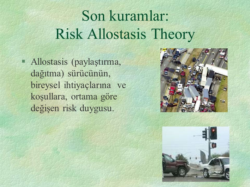 Son kuramlar: Risk Allostasis Theory