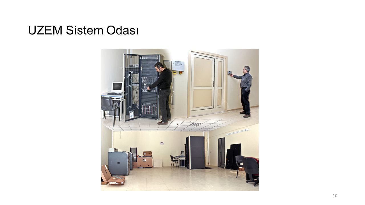 UZEM Sistem Odası
