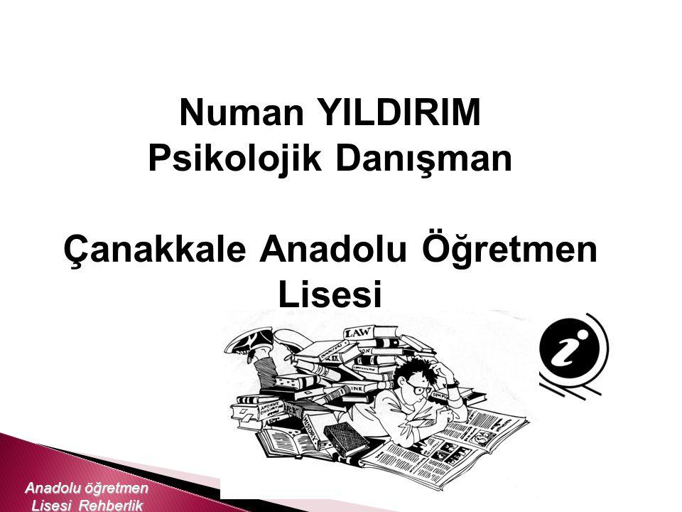 Çanakkale Anadolu Öğretmen Lisesi