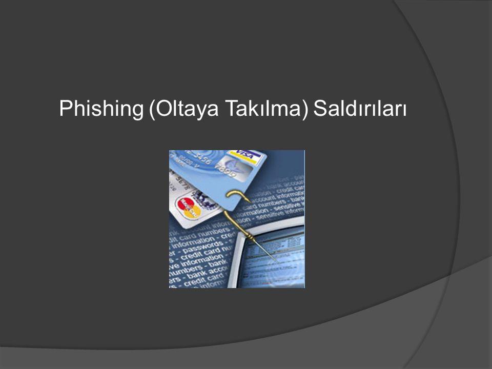 Phishing (Oltaya Takılma) Saldırıları