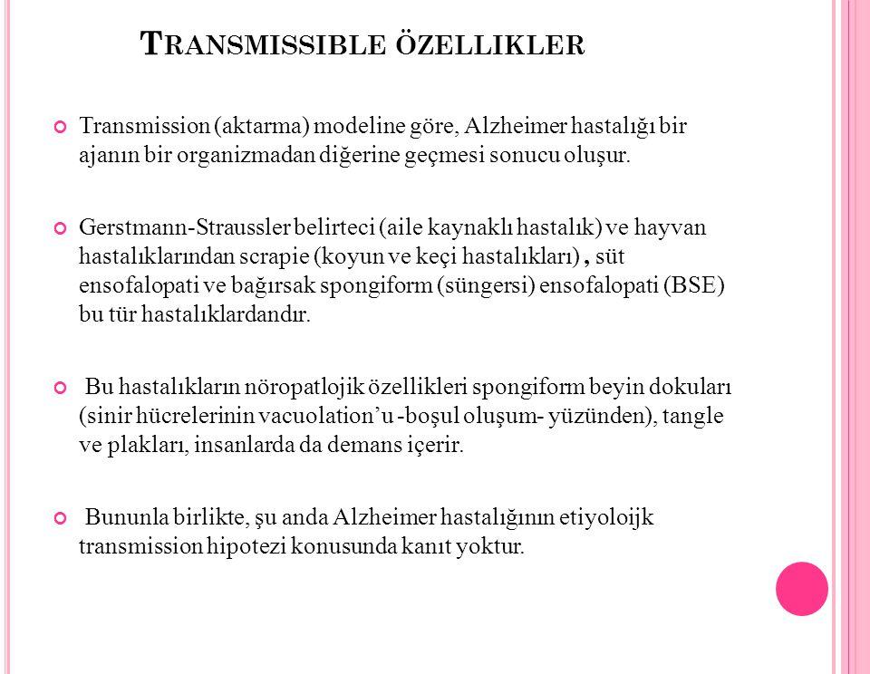 Transmissible özellikler