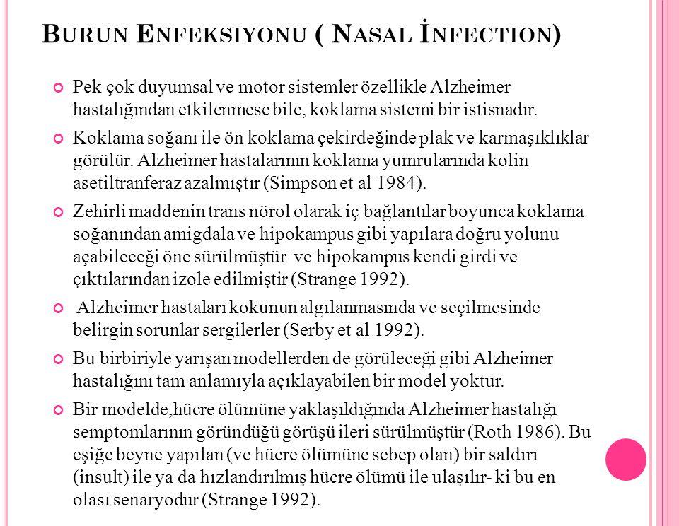 Burun Enfeksiyonu ( Nasal İnfection)