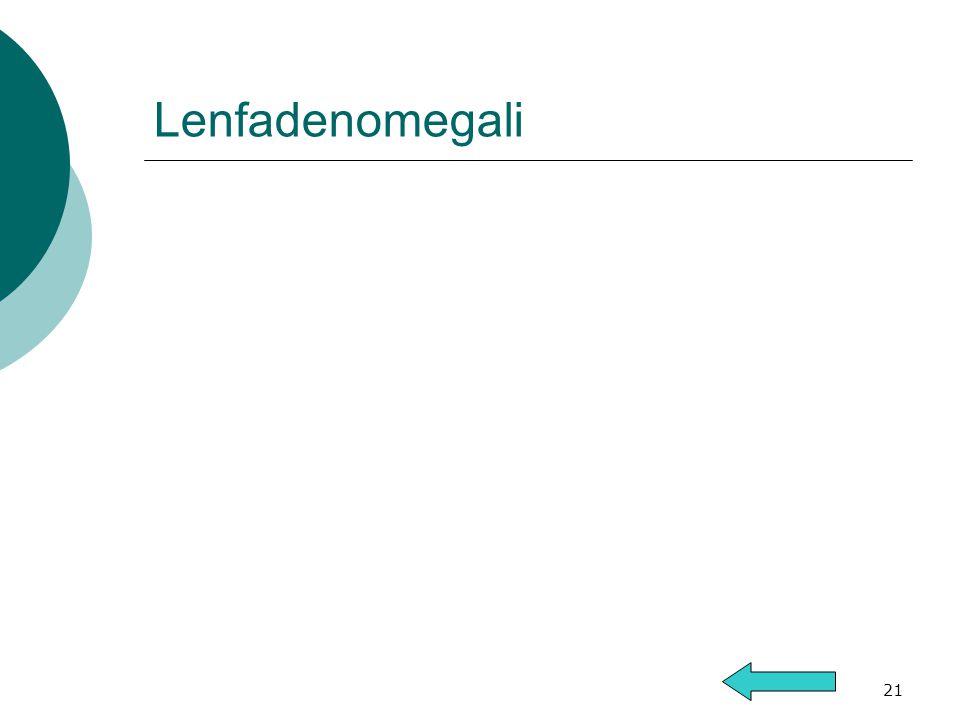 Lenfadenomegali