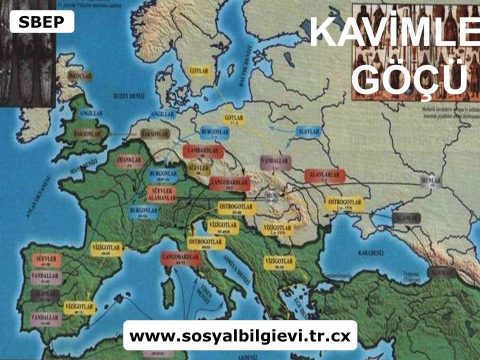 KAVİMLER GÖÇÜ SBEP www.sosyalbilgievi.tr.cx