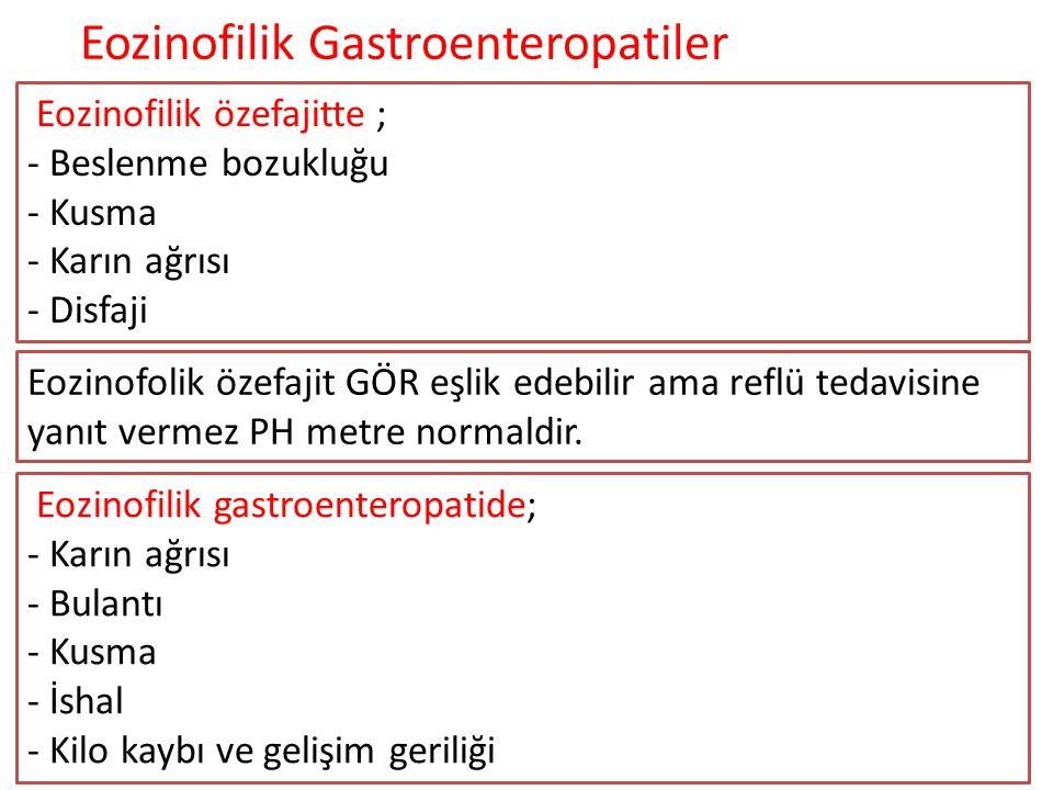 Eozinofilik Gastroenteropatiler