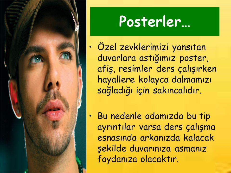 Posterler…