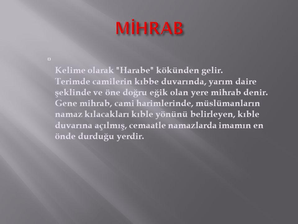 MİHRAB