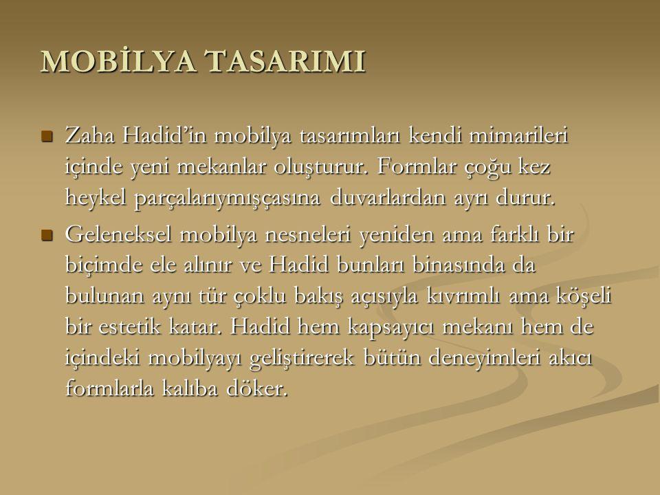 MOBİLYA TASARIMI