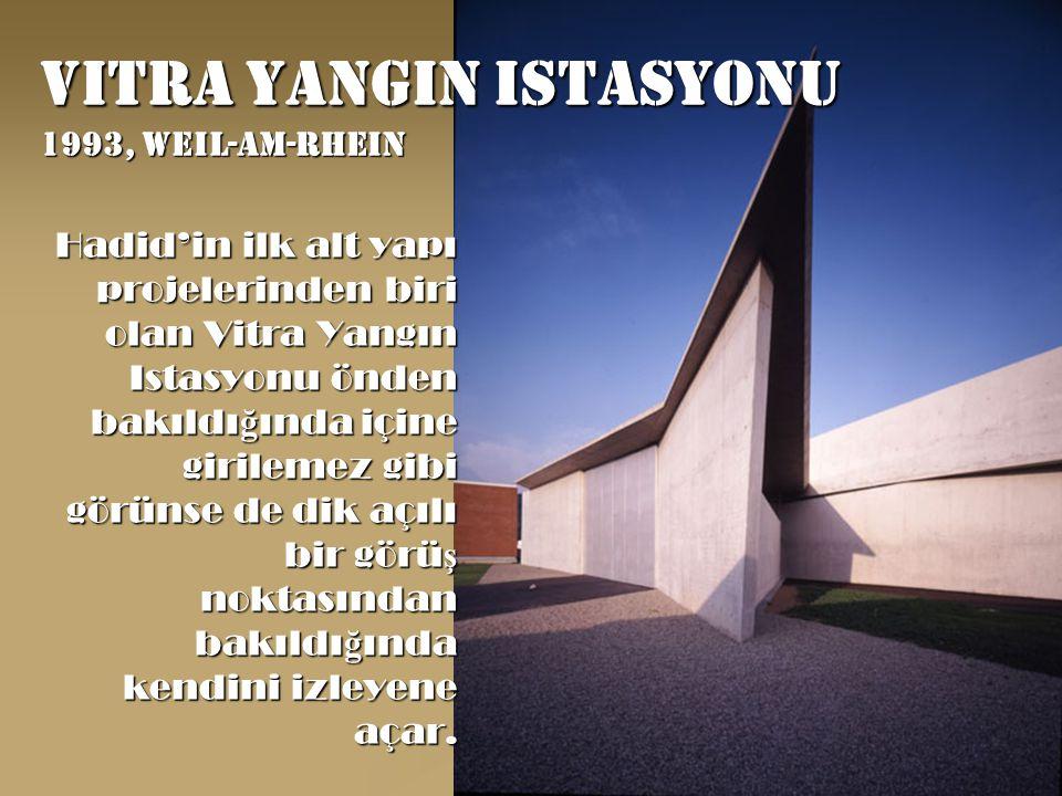 Vitra yangin istasyonu 1993, weil-am-rhein