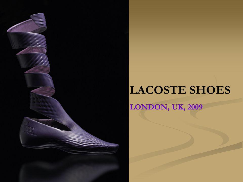 LACOSTE SHOES LONDON, UK, 2009