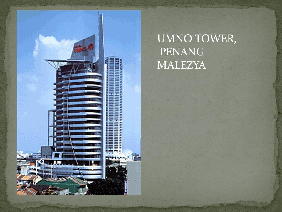 UMNO TOWER, PENANG MALEZYA