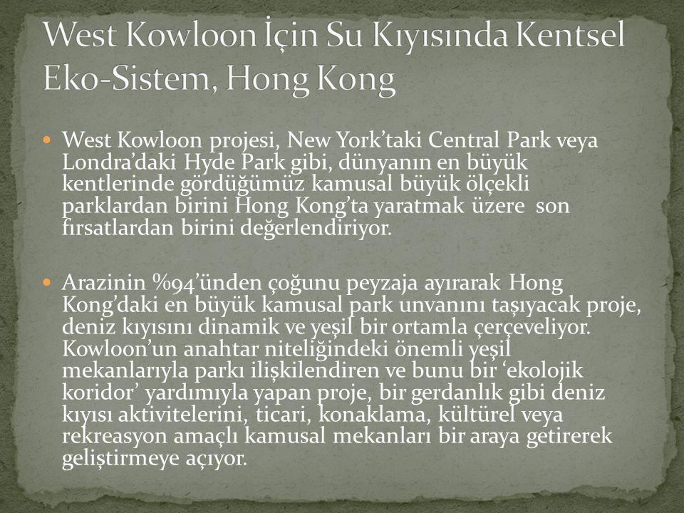 West Kowloon İçin Su Kıyısında Kentsel Eko-Sistem, Hong Kong