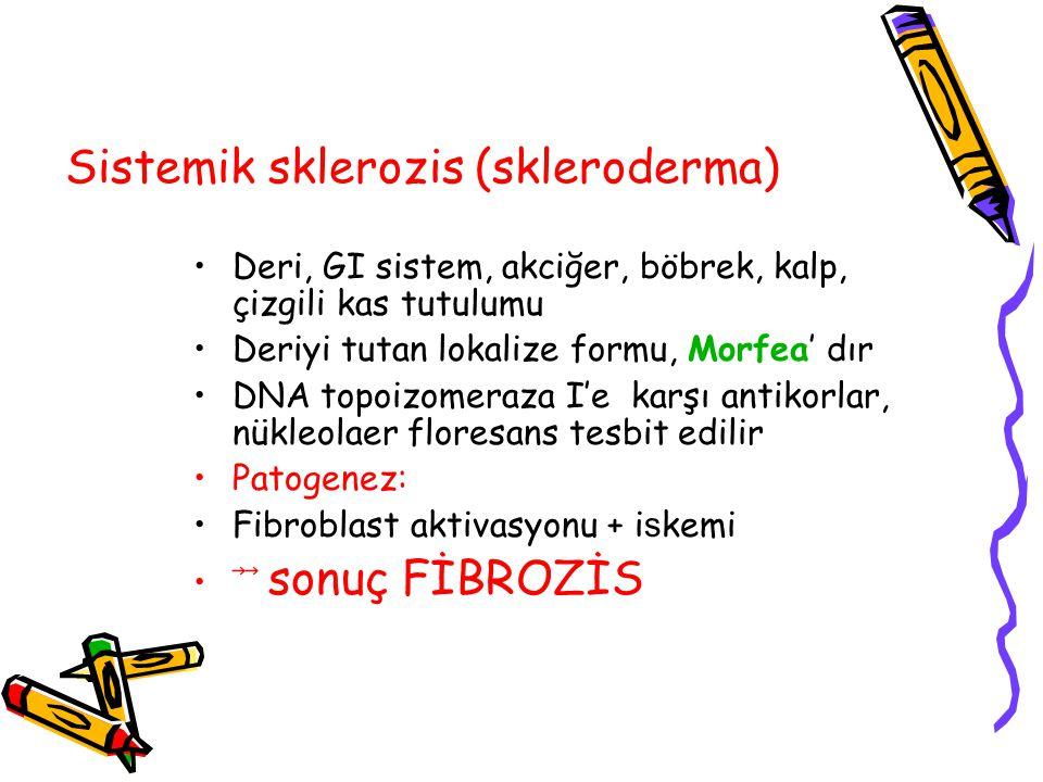 Sistemik sklerozis (skleroderma)