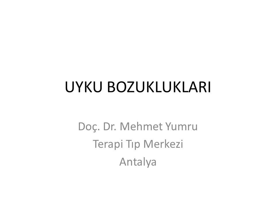 Doç. Dr. Mehmet Yumru Terapi Tıp Merkezi Antalya