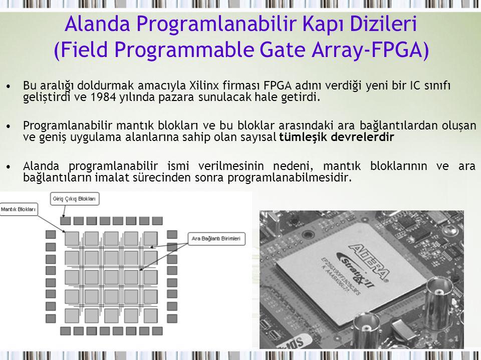 Alanda Programlanabilir Kapı Dizileri (Field Programmable Gate Array-FPGA)