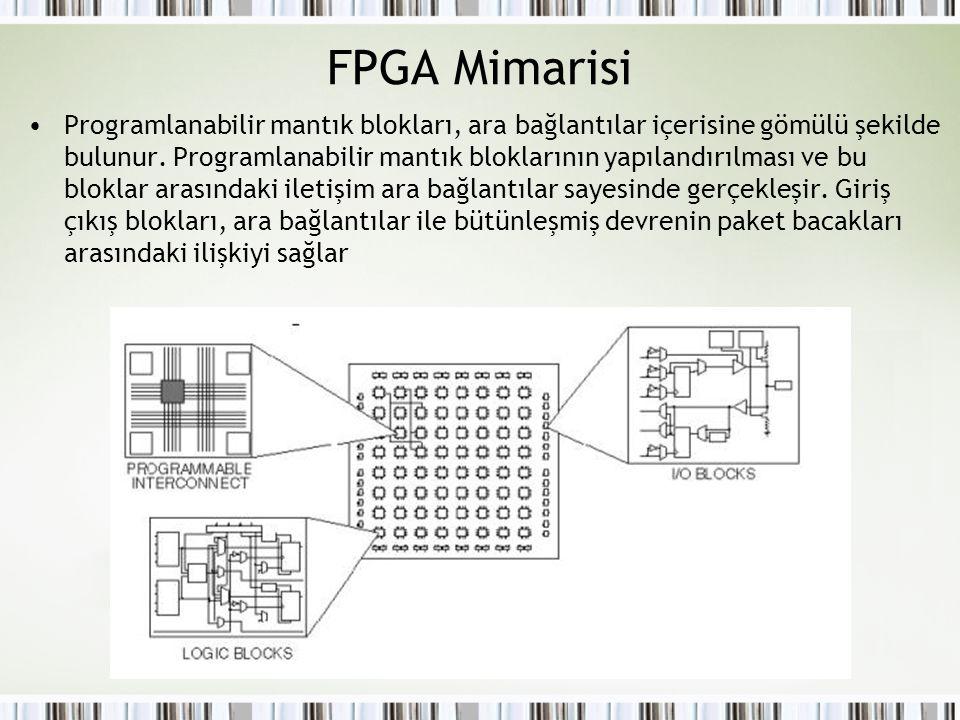 FPGA Mimarisi