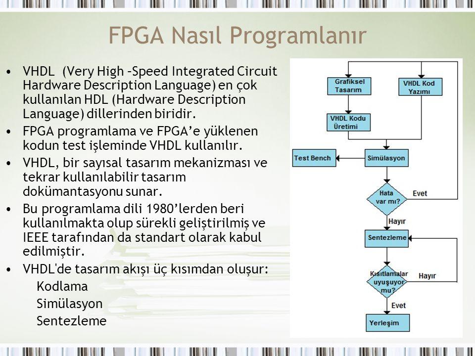 FPGA Nasıl Programlanır
