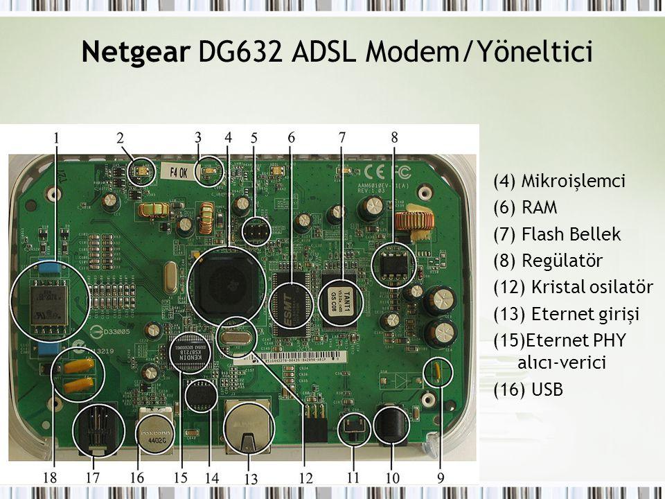Netgear DG632 ADSL Modem/Yöneltici