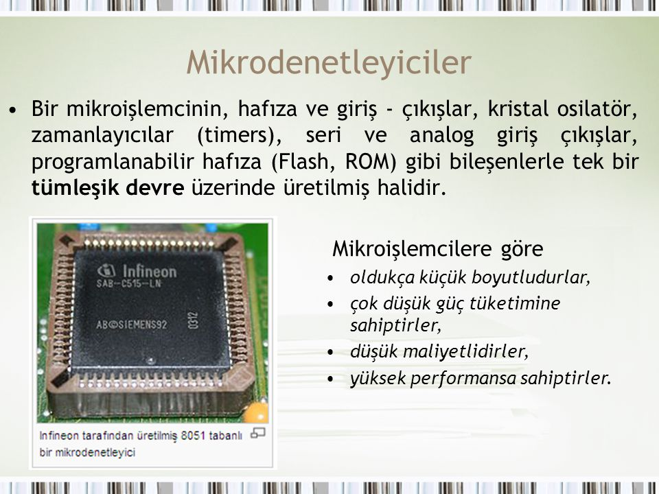 Mikrodenetleyiciler
