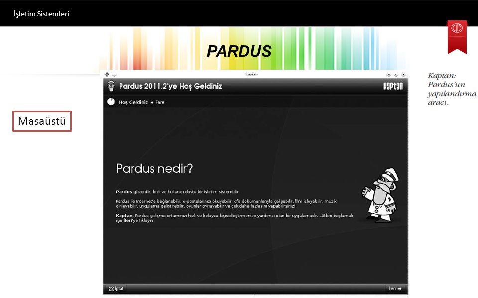 İşletim Sistemleri PARDUS Masaüstü