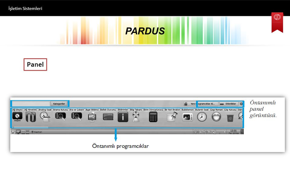 İşletim Sistemleri PARDUS Panel