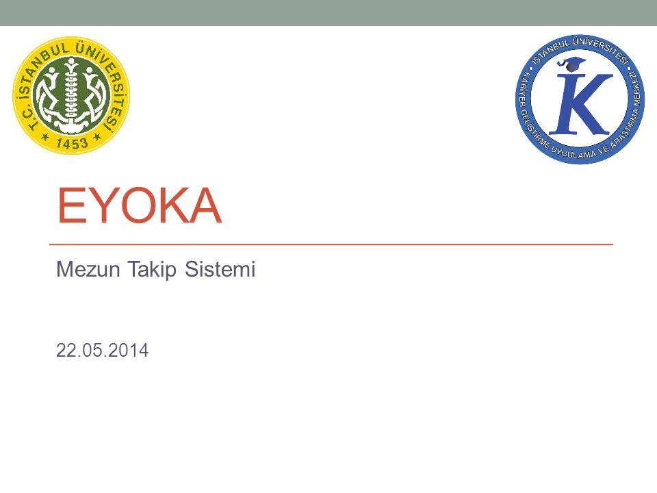 EYOKA Mezun Takip Sistemi 22.05.2014