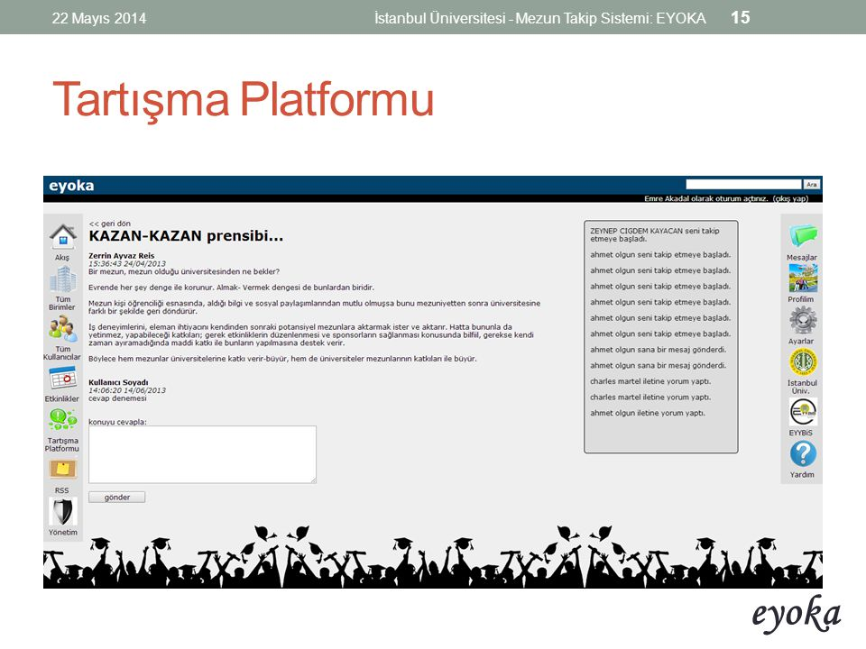 Tartışma Platformu 22 Mayıs 2014