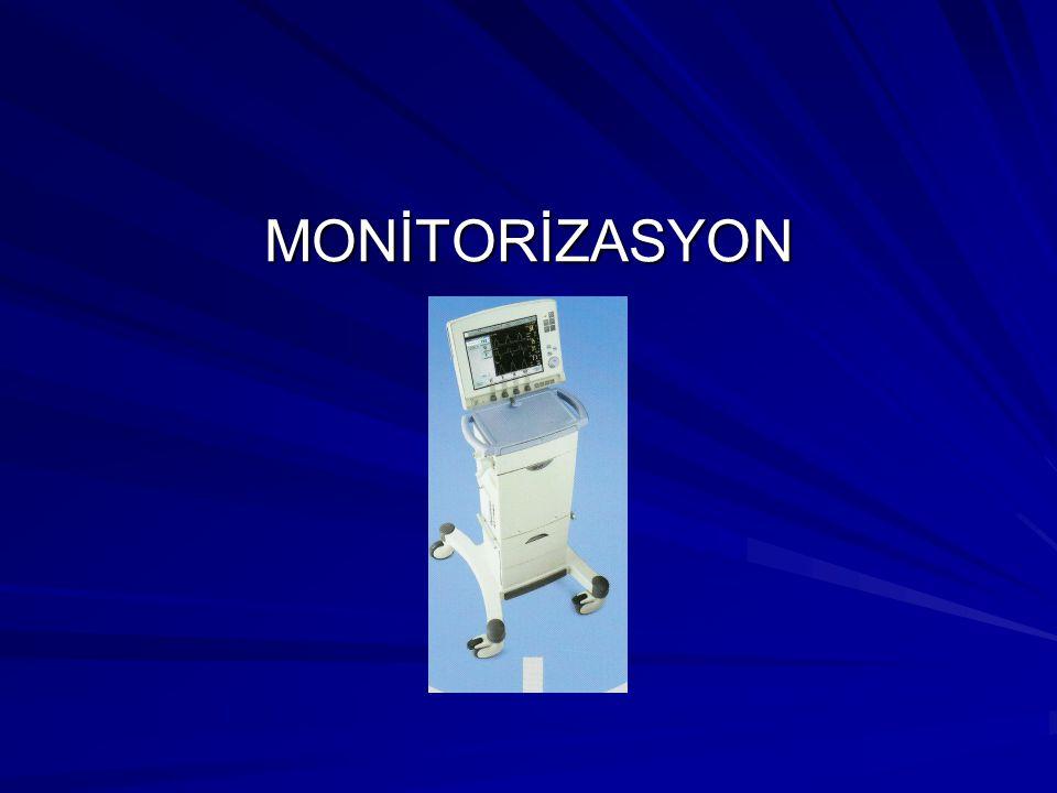 MONİTORİZASYON