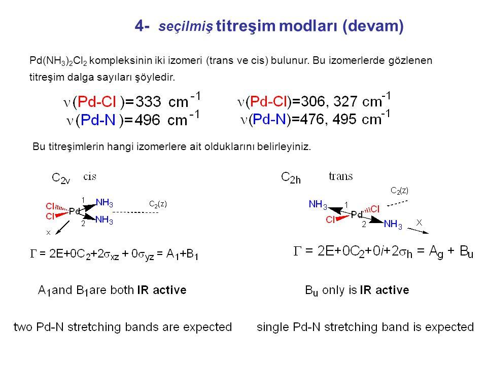4- seçilmiş titreşim modları (devam)