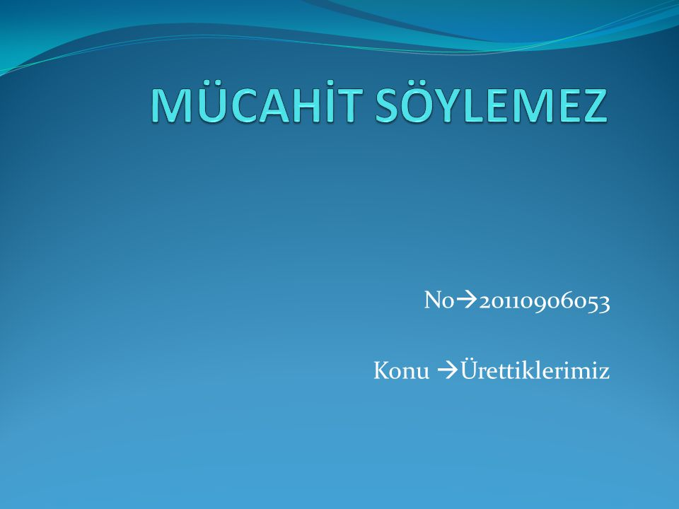 No20110906053 Konu Ürettiklerimiz