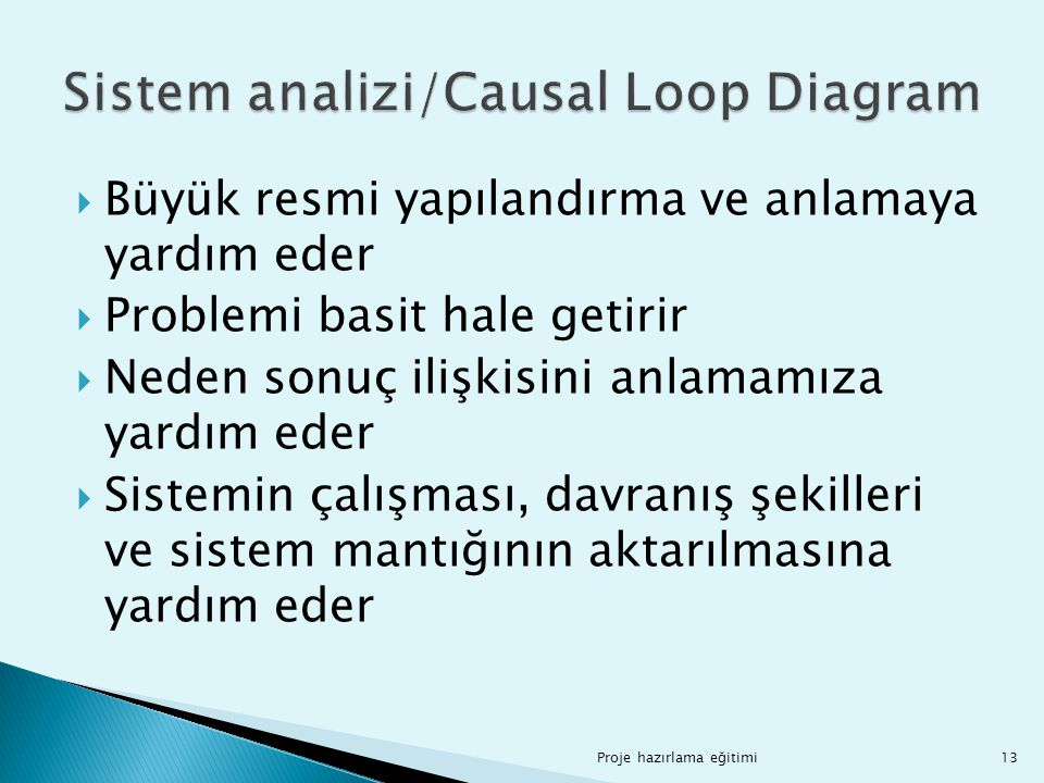 Sistem analizi/Causal Loop Diagram