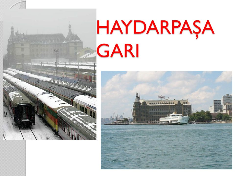 HAYDARPAŞA GARI